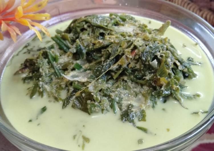 Cara memasak Gulai pakis cabe rawit lezat