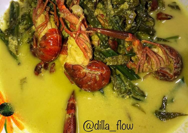 Gulai Pakis Dengan Lobster