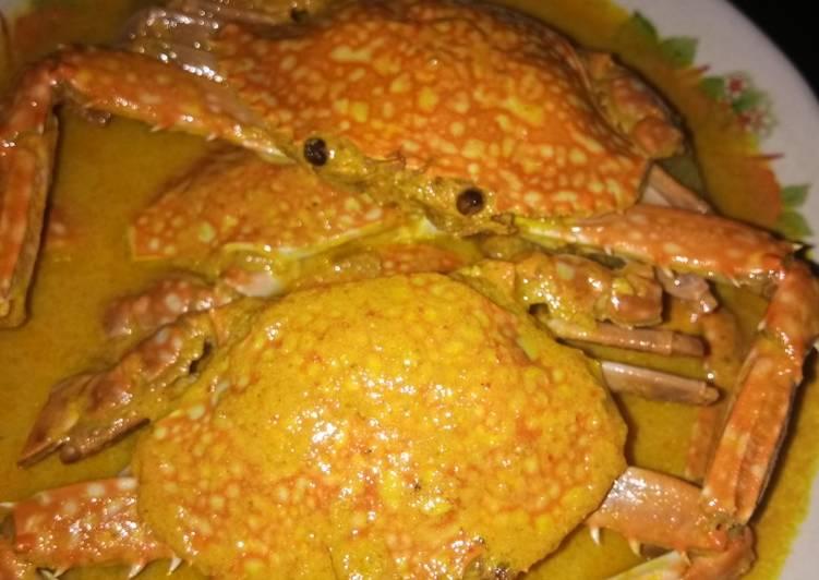 Cara Mudah mengolah Gulai kepiting khas minang lezat