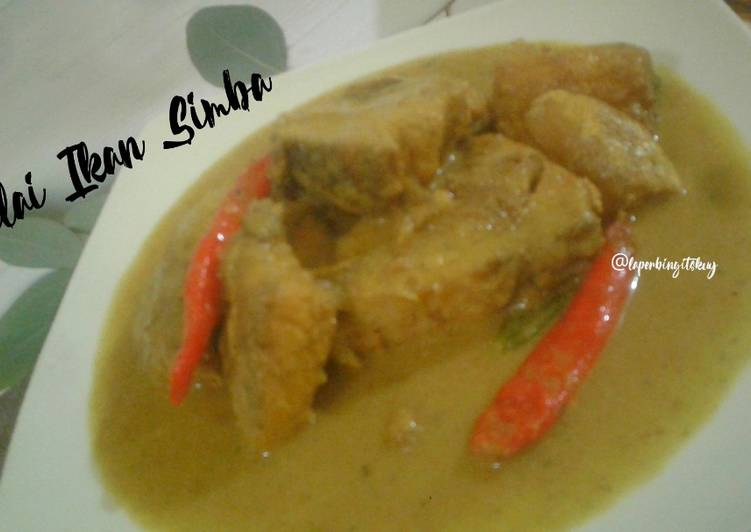 Resep memasak Gulai Ikan Simba Maknyossss 😊 ala resto