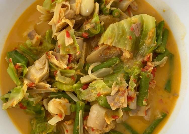 Resep: Gulai nangka Padang rendah kalori yang menggugah selera