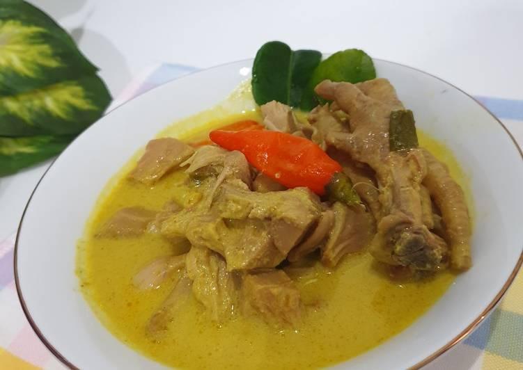 Cara memasak Gulai Nangka yang bikin ketagihan