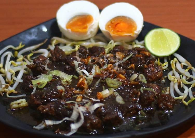 Cara mengolah Rawon daging sapi 👍👩🍳 khas jawa timur sedap