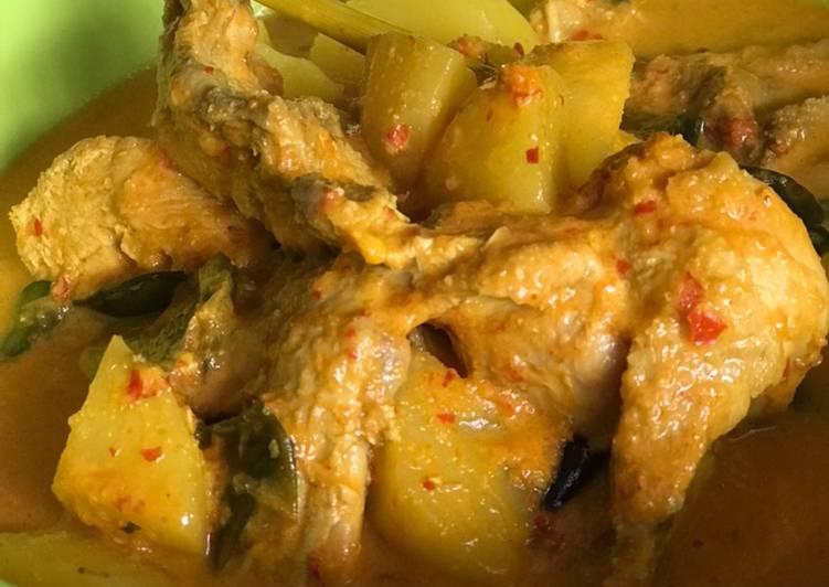 Resep: Gulai ayam yang menggoyang lidah