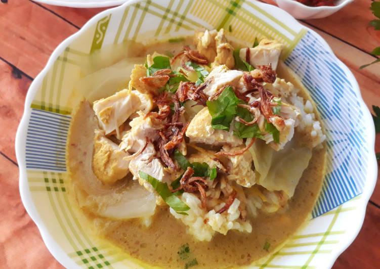 Resep memasak Gulai Ayam ala Kampung (Menu Hajatan) yang menggoyang lidah