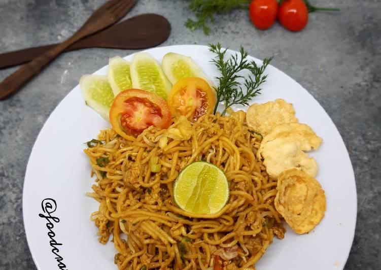 Resep: Mie Aceh Sederhana ala resto
