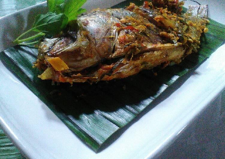 Resep memasak Ikan nila baka bumbu gulai, no kecap no micin, masak dgn pan lezat