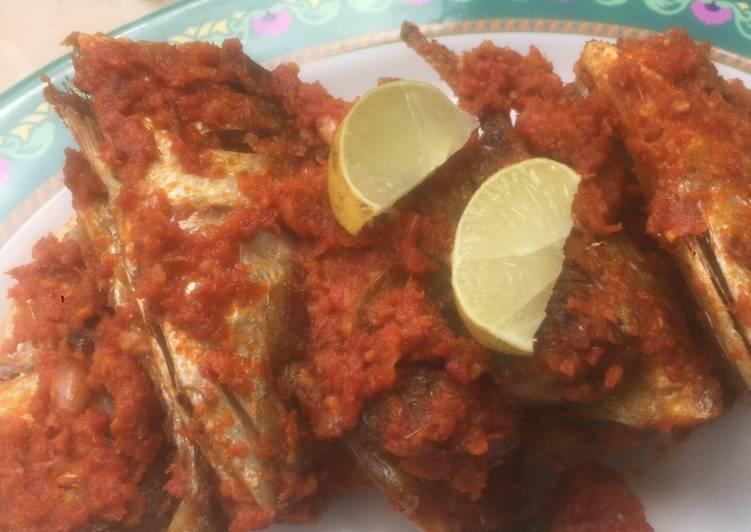 Resep: Ikan Kembung Balado Minang ala Mak Etek enak