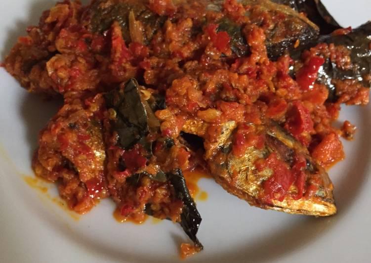 Cara Mudah memasak Ikan kembung balado lezat