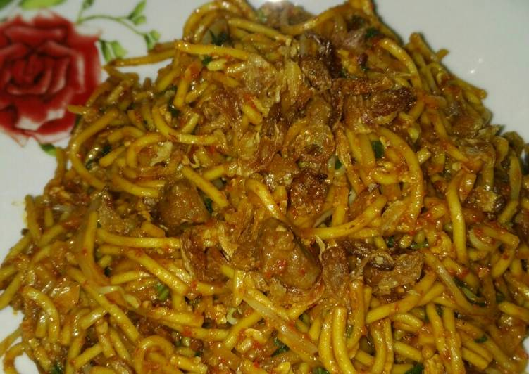 Resep: Mie Aceh goreng sedap