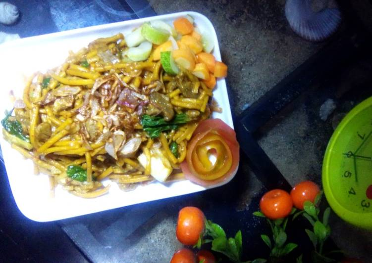 Mie Aceh Daging Sapi