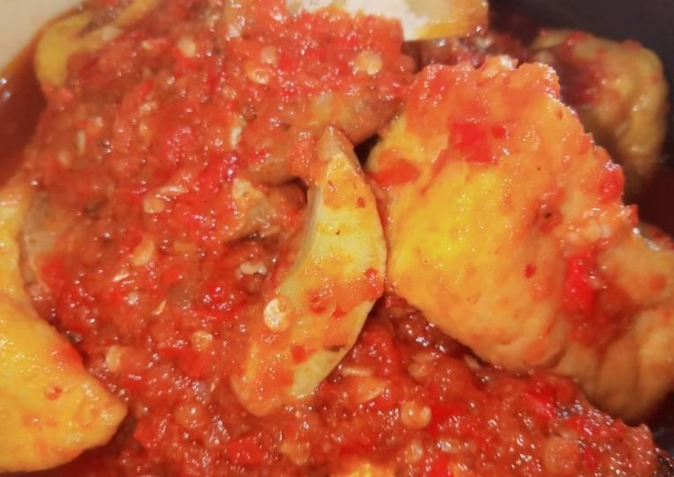 Resep: Balado Sarden+Tahu and jengkol lezat