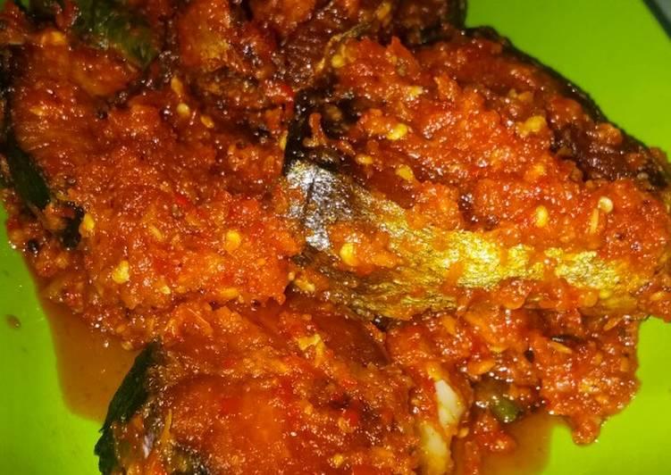 Resep: Balado ikan tongkol lezat