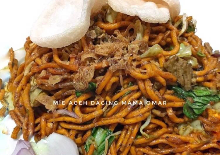 Resep: Mie Aceh daging yang menggoyang lidah