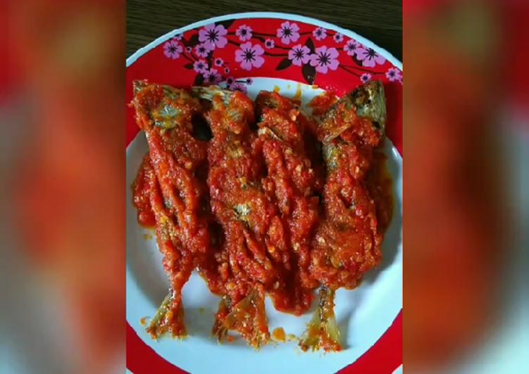 Resep: Ikan Kembung Balado ala resto