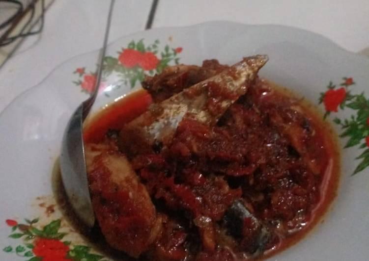 Ikan Tongkol balado Pedas