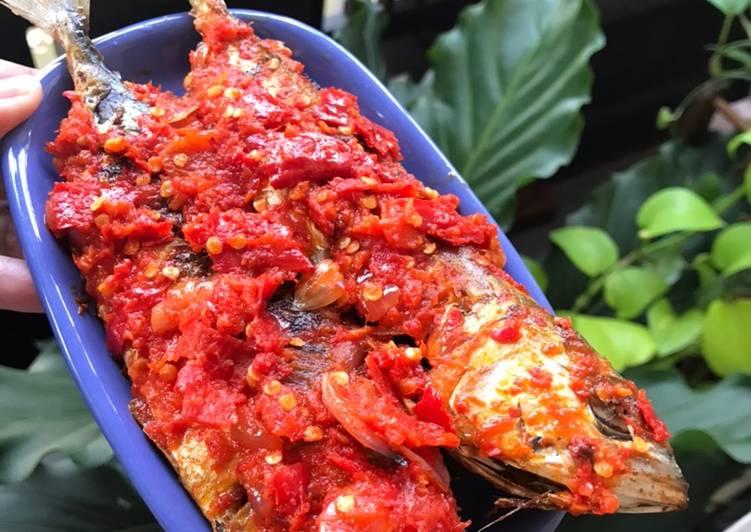 Resep mengolah Ikan Kembung Balado yang menggoyang lidah