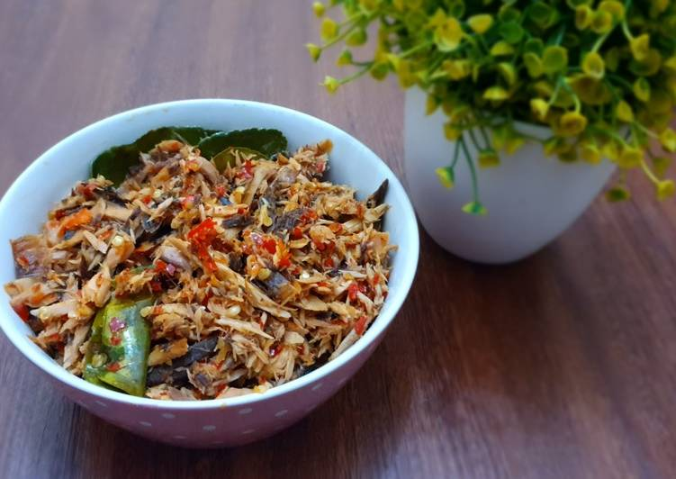 Resep: Balado Tongkol Suwir ala resto