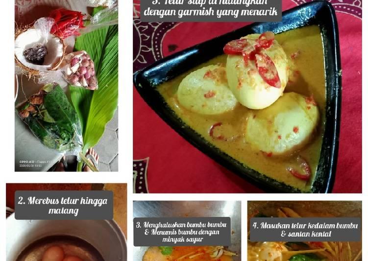 Resep memasak KALIO TELUR 🍝 anti ribet enak