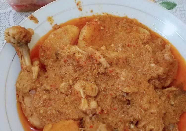 Cara membuat Kalio Ayam Khas minang enak