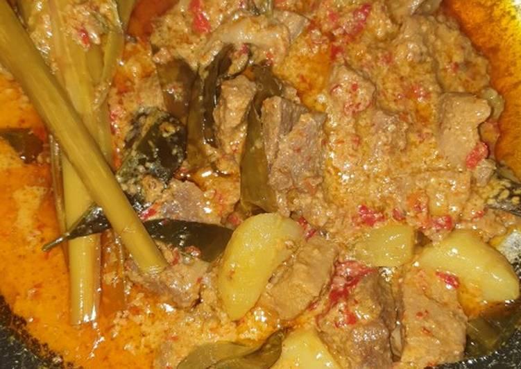 Resep: Kalio daging ala resto