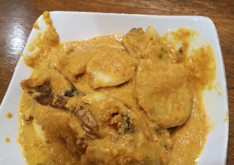 Cara memasak Gulai ikan salai jengkol semi kalio ala resto