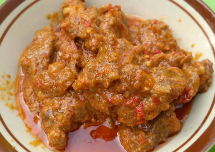 Resep: Rendang Kalio daging sapi sedap