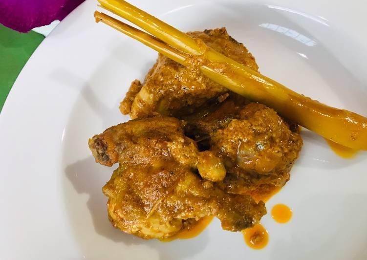 Cara Mudah memasak Kalio Ayam Gurih Istimewa khas Padang yang menggugah selera
