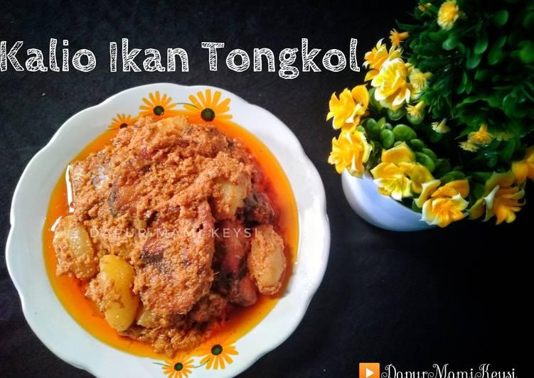 Resep: Kalio Ikan Tongkol yang menggugah selera