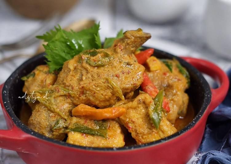 Kalio Ayam Tahu