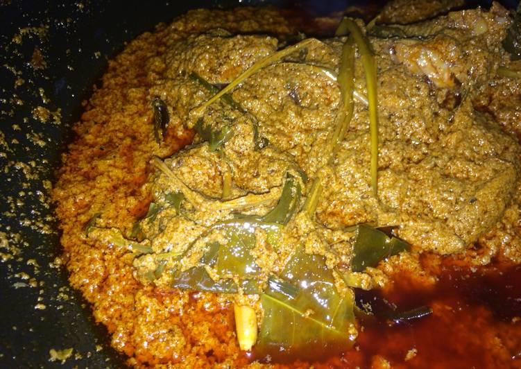 Resep: Rendang (kalio daging) ala resto