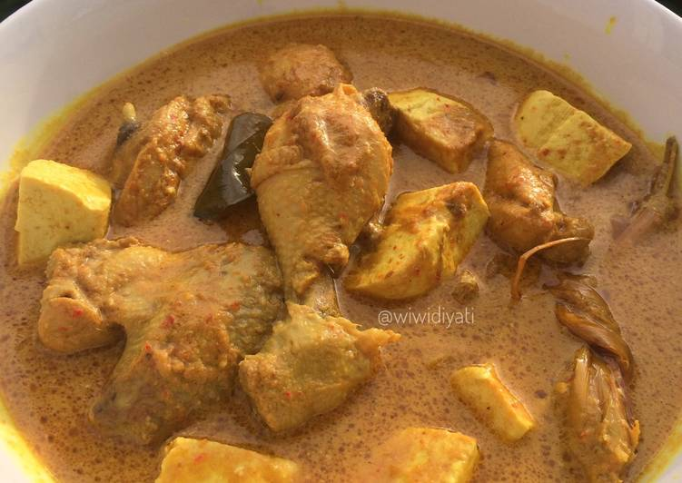 Resep: Kalio Ayam & Tahu