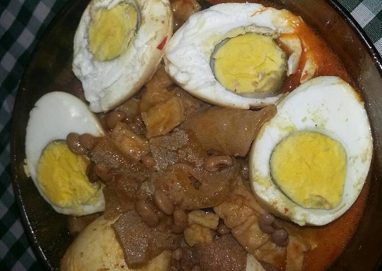 Resep membuat Sambel goreng rambak+ kacang tolo yang menggoyang lidah