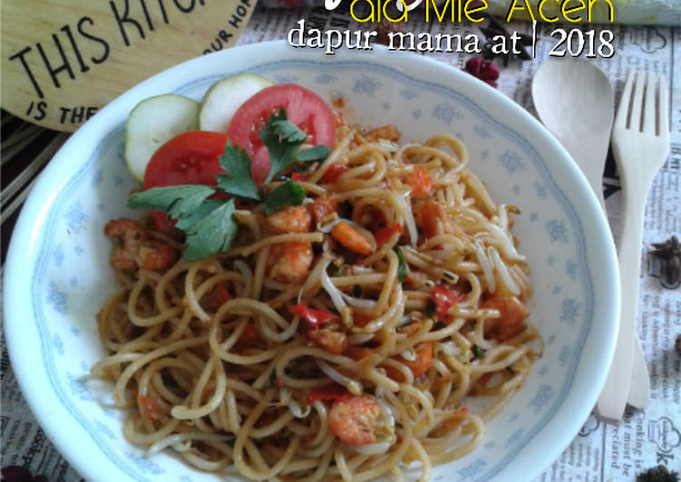 Spaghetti Ala Mie Aceh