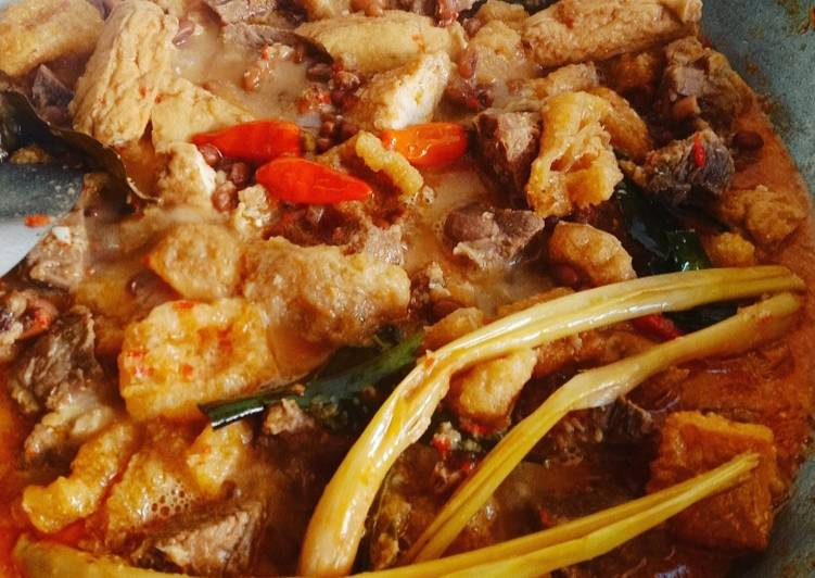 Resep membuat Sambel goreng krecek lezat