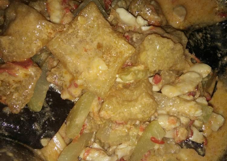 Resep memasak 37. Krecek santan pedas