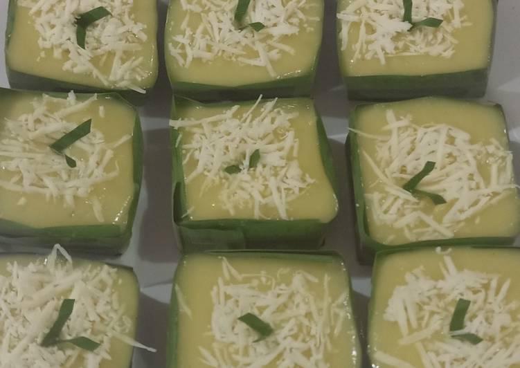 Cara membuat Ketan durian keju sedap