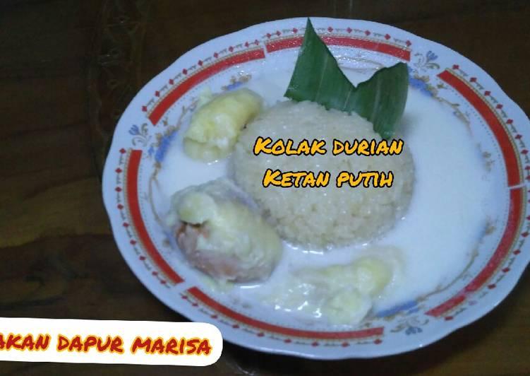 Resep: Cara Membuat Kolak Ketan Durian Manis Nikmat dan Mudah istimewa