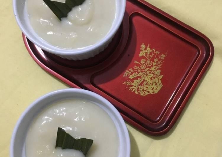 Resep: Ketan durian ala fe yang menggugah selera