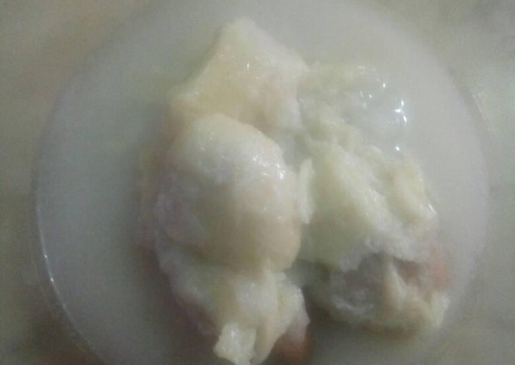 Resep: Kolak ketan durian enak
