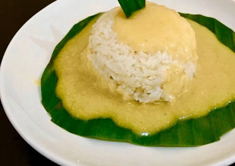 Resep memasak Ketan durian lumer yang menggugah selera