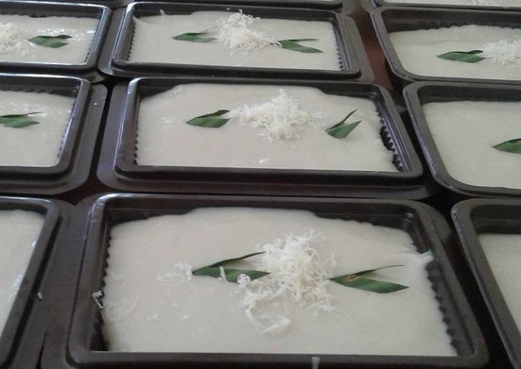 Resep membuat Ketan durian lumer(tandumer) yang menggugah selera
