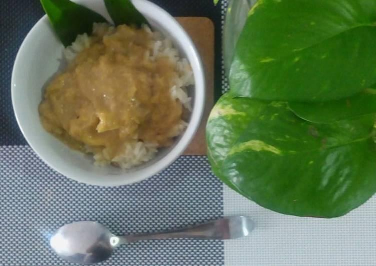Resep: Ketan Durian Ku😘 yang menggugah selera