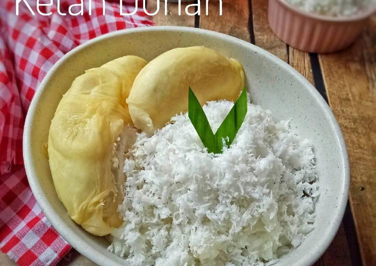 Ketan Durian (Khas Sumatera)