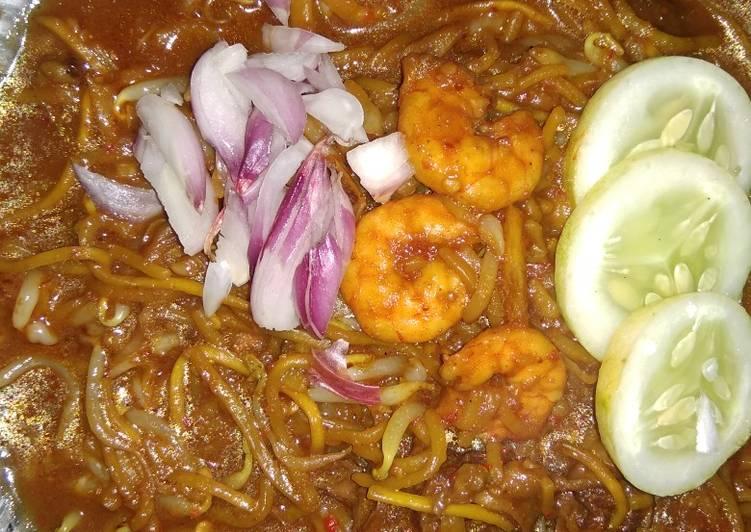 Resep memasak Mie aceh seafood & daging yang menggugah selera