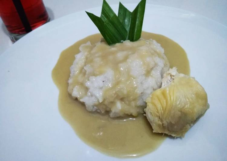 Resep: Ketan durian #kamismanis