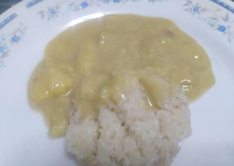 Resep: Ketan Durian yang menggugah selera