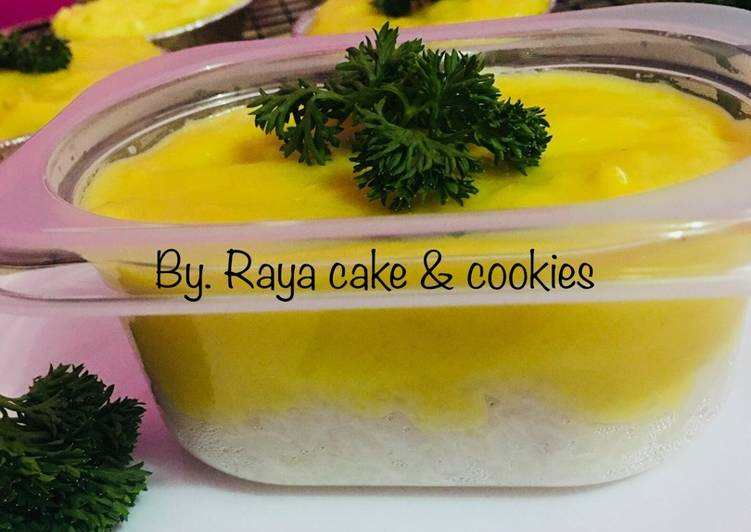 Resep: Ketan durian lumer sedap