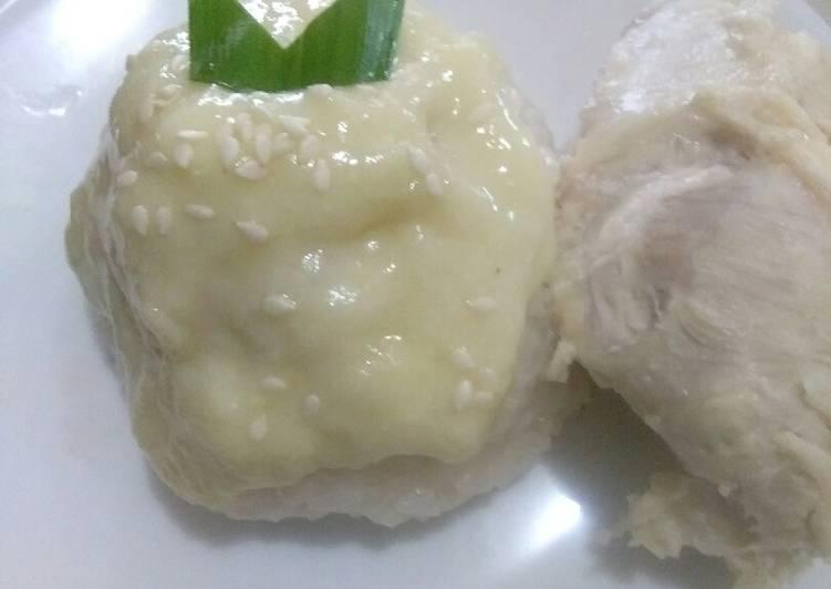 Resep: Ketan durian sedap