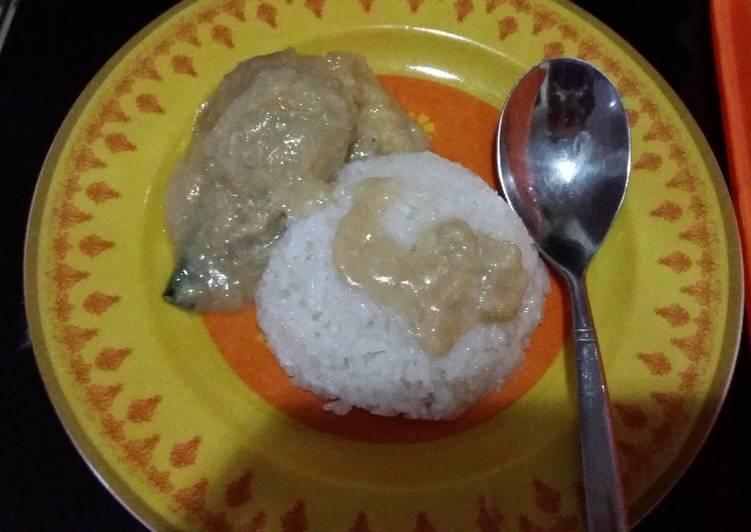 Cara Mudah mengolah Ketan duren legit saus kinca durian